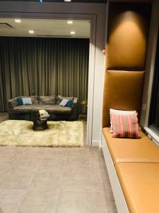 A seating area at Best view, location and coziness in River North!