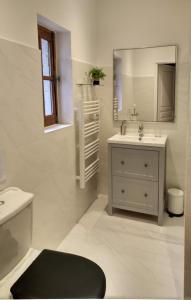 A bathroom at Landerrouat Villa Sleeps 8 Pool WiFi