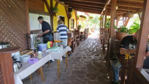 A restaurant or other place to eat at Prima Porta Vendeghaz