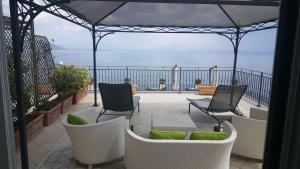 Een balkon of terras bij Hotel Raito Wellness & SPA