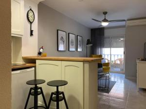 A kitchen or kitchenette at Apartment Mila Located 300 Meters From Sandy Beach