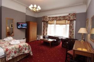 A seating area at Farington Lodge Hotel