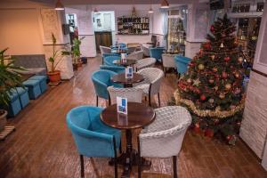 Zona de lounge sau bar la Hotel Marea Neagra