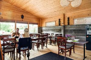 En restaurang eller annat matställe på First Camp Nydala-Umeå
