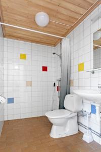 Ett badrum på First Camp Nydala-Umeå