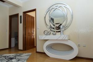 A bathroom at Mar Rosa