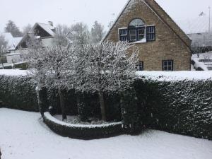 B&B Colombe Blanche during the winter