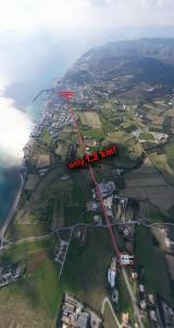 Vista aerea di Pittas Studios & Apartments