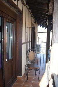Un balcón o terraza de HOTEL RURAL SIERRA DE FRANCIA