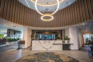 The lobby or reception area at Best Western City Sands