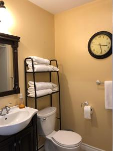 A bathroom at 561 Notre Dame St Apartment