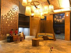 The lobby or reception area at The Merit Resort