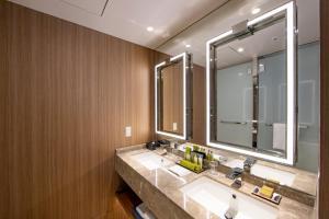 Ванная комната в Hilton Nagoya Hotel