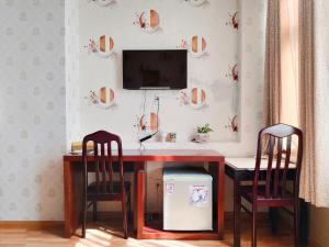 TV/trung tâm giải trí tại Anh Dao Mekong Hotel