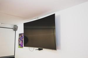 A television and/or entertainment center at The Kings Arms