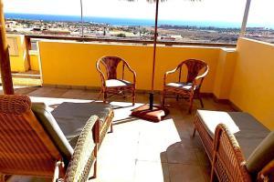 Un balcón o terraza de Cloud Volcano