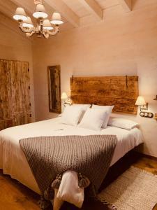 Cama o camas de una habitación en Cal Paller