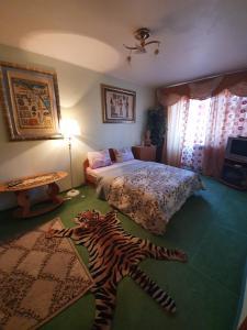Кровать или кровати в номере House Hotel Apartments 2