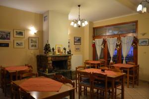 Restaurant ou autre lieu de restauration dans l'établissement Guesthouse Lithos