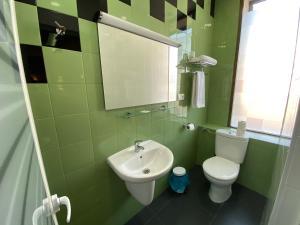 A bathroom at Estación