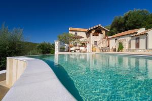 The swimming pool at or near BRAND NEW: Villa Bolios, Sea View, Private Pool