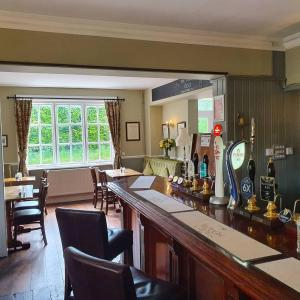 The lounge or bar area at The Plough Itchen Abbas