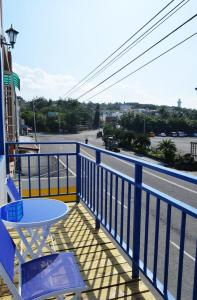 A balcony or terrace at Nandian Homestay