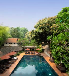 The swimming pool at or close to Tamarind Village