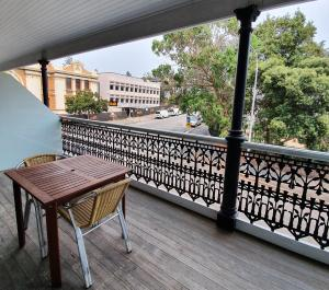 A balcony or terrace at Grand Hotel