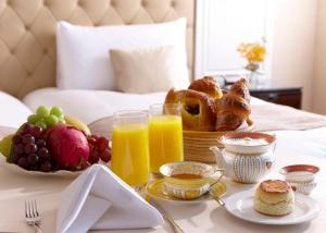 Breakfast options available to guests at The Okura Prestige Taipei