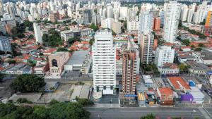Uma vista aérea de Comfort Nova Paulista