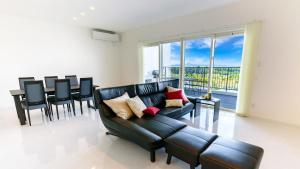 Jacuzzi Terrace Okinawa IMSにあるシーティングエリア