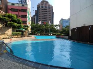 The swimming pool at or near Evergreen Laurel Hotel - Taichung