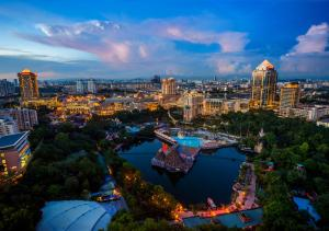 A bird's-eye view of Sunway Resort Hotel & Spa