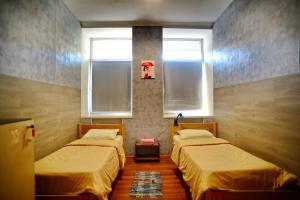 Кровать или кровати в номере Hostel3952 - Irkutsk on Marata