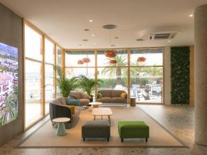The lobby or reception area at Albir Garden Resort