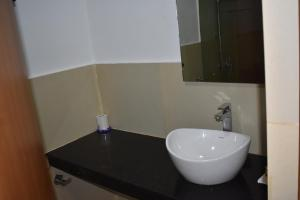 A bathroom at NOCCi Residency