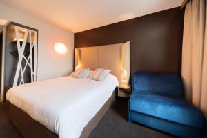 Un ou plusieurs lits dans un hébergement de l'établissement Campanile Findrol - Savoie Leman