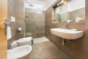 A bathroom at Albatros studio Classic