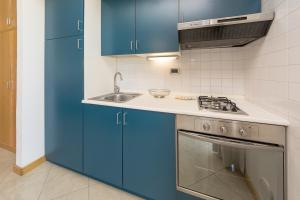 A kitchen or kitchenette at Albatros studio Classic