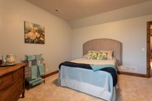 A bed or beds in a room at Boarding @ Lazy D Ranch