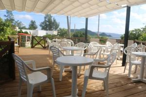 A restaurant or other place to eat at Kerama Beach Hotel