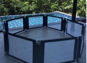 A view of the pool at Stylish Pool Villa 3BR - 10 Mins Walk To The Beach - VISION LANTA or nearby