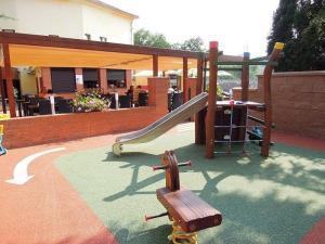 Children's play area at Restaurace a penzion U Zámečku