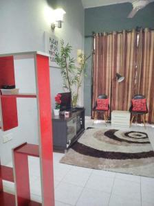 The lobby or reception area at HOMESTAY PASIR GUDANG NEARBY MMHE, JOHOR PORT, TANJUNG LANGSAT, SENAI AIRPORT