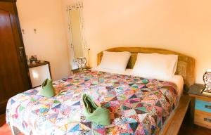 A bed or beds in a room at Rumah Semanggi