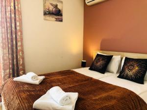 Krevet ili kreveti u jedinici u objektu Motel Malta