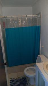 A bathroom at Mings Apt.