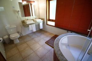 Um banheiro em Pousada Ahavanoah