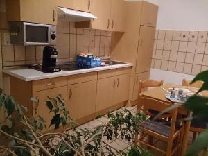 Küche/Küchenzeile in der Unterkunft Villa Hebel